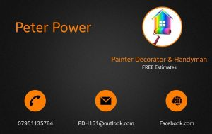 Painting decorator & handyman South West London